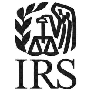 IRS logo featuring measuring scales