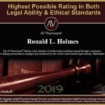 30 years! Ron Holmes awarded AV Rating from peers