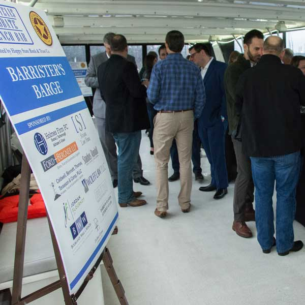 Barrister's Barge at the North Texas Probate Bench Bar was sponsored by the Holmes Firm