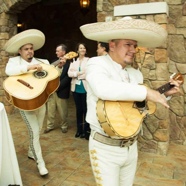 Mariachi band at the North Texas Probate Bench Bar 2020 reception