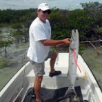Ron Holmes barracuda fishing