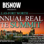 Ron Holmes moderating Industrial Real Estate summit