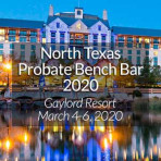 Donna J. Yarborough at the 2020 North Texas Probate Bench Bar